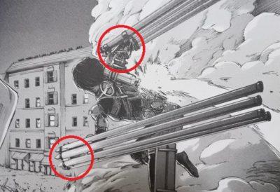 進撃の巨人考察 立体機動装置